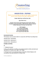 Anger Styles – Stuffing