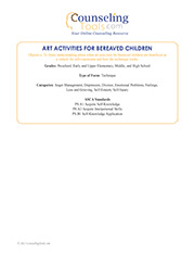 Art Activities for Bereaved Children