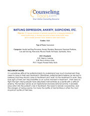 Battling Depression, Anxiety, Suspicions, Etc.