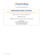 Bereavement Therapy Activities