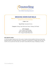 Breaking Down Our Walls