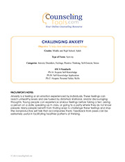 Challenging Anxiety