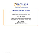 Crisis Intervention Groups