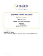 Encourage Success in Learning