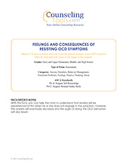 Feelings and Consequences of Resisting OCD Symptoms