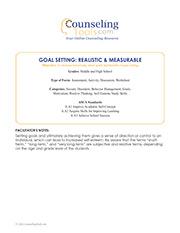 Goal Setting: Realistic & Measurable