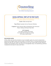 Goal Setting: Step Up to the Plate