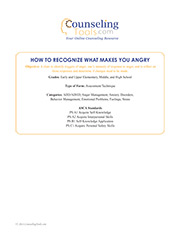 How to Recognize What Makes You Angry