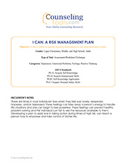 I Can: A Risk Management Plan