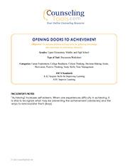 Opening Doors to Achievement