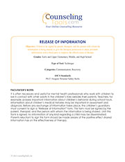 Release of Informantion