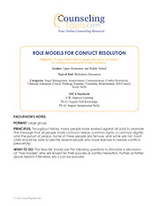 Role Models for Conflict Resolution