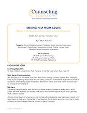 Seeking Help From Adults