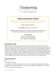 Stress Down with Fitness