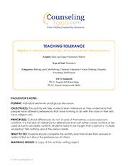 Teaching Tolerance