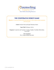 The Cooperative Robot Game