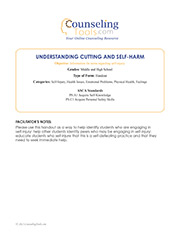 Understanding Cutting and Self-Harm
