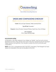 Urges and Compulsions Checklist