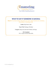 What to Say If Someone Is Suicidal