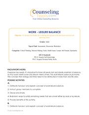 Work – Leisure Balance