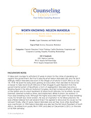 Worth Knowing: Nelson Mandela
