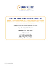 You Can Learn to Avoid the Blame Game