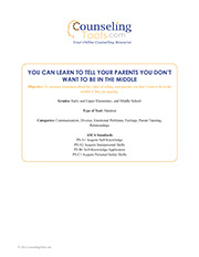 You Can Learn to Tell Your Parents You Don't Want to Be in the Middle