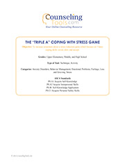 "The ""Triple A"" Coping with Stress Game"