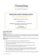 Respecting Others' Personal Space