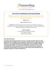 Actively Planning For Discharge