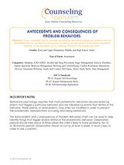 Antecedents and Consequences of Problem Behaviors